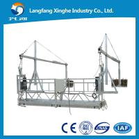 Quality zlp800 hot galvanzied suspended working platform / suspended cradle / gondola working platform for sale