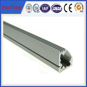 Quality 6000 series extruded aluminium profile for led strip / aluminum profile for led light bar for sale