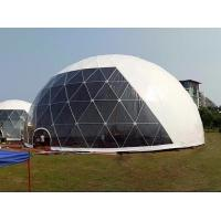 Quality 18M Waterproof Anti - UV Geodesic Dome Tent With Steel Pipes For Event Party for sale