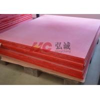 Quality Low Smoke And Halogen - Free GPO3 Fiberglass Sheet Suitable To Rail Traffic for sale