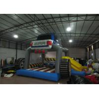 Quality Indoor Playground Car Combo Inflatable Jump House  7.5 X 6.5m For 3 - 15years Old Children for sale