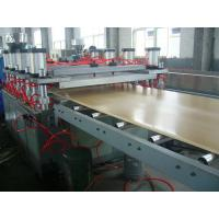 Quality Professional WPC Extrusion Machine For Panel Fence Low Energy Consumption WPC Profile Machine for sale