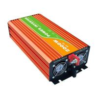 Quality Low Noise High Frequency Pure Sine Wave Inverter , Orange True Sine Wave Inverter for sale