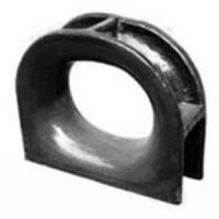 Quality Sand Steel Castings Ship Mooring Chocks Marine Closed Chock Size Customized for sale