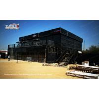 Buy cheap High end customized double decker tent with black color hard walls for cooperate events from wholesalers