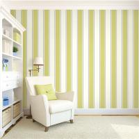 Buy Top quality waterproof mould proof stripe design PVC vinyl wallpaper at wholesale prices