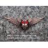 Halloween Skull Bat Magnetic Folding Metal Money Clip, batman fold magnet money clip for sale