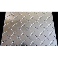 China Alu Checker Plate Sheet , Customized Aluminum Diamond Tread Plate on sale