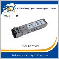 China 10g sfp 80km optical transceiver 80km sfp zr module, fiber optic equipment 10g sfp+ for sale