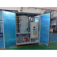 Double Stage Transformer Oil Dehydration Machine for sale