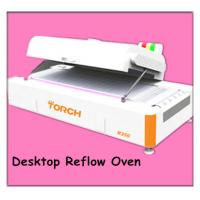 Quality Lead free desk type reflow oven with inline testing temperature function MODEL:R350 for sale