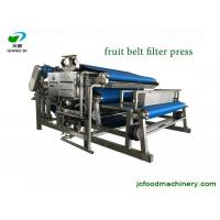 Quality stainless steel automatic apple grape fruit juice belt filter pressing machine for sale