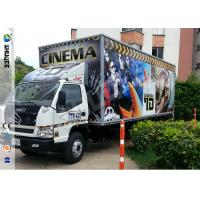 Quality Popular Truck Mobile 7D Cinema System With 9 Black Leather Pneumstic Seats for sale