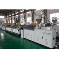 Quality Recycled WPC Profile Machine Extruder For Wood And Plastic Profiles for sale