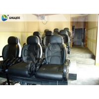 Quality Black Luxury Seats 7d Simulator Cinema Motion Chair In Genuine Leather Material for sale