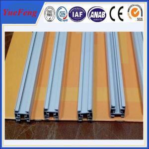 Quality aluminium profile for nigeria market best aluminium profile price, white powder coated alu for sale