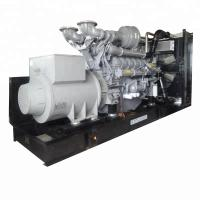 Quality 2250 Kva Perkins Electric Generators Open Type Closed Cycle Water-Cooled With Fan for sale