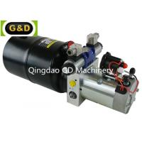 DC 12V 210Bar Horizontal Mounting Hydraulic Power Unit for Sideloader Trucks for sale