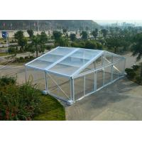 Quality Temporarily Installed Clear Event Tent , Clear Party Tent For Outdoor Events for sale