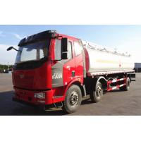 Quality 20T Diesel Crude Oil Tanker Truck 6×4 JIEFANG FAW 223hp 20CBM / Fuel Delivery Tanker for sale