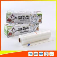 Quality Microwave Safe Catering Cling Film PE Biodegradable Cling Film Roll Clear for sale