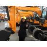 CE certification 9000kg Crawler & Wheel Excavator Machine With 1 CBM Backhoe Bucket for sale