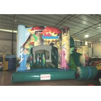 Quality 5 X 5m Indoor Jump House Fire Resistance , Childrens Bouncy Castle Quadruple Stitching for sale