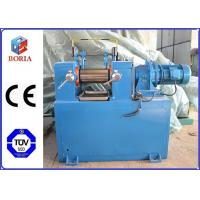 Quality Lab Plastic Rubber Mixing Machine Two Roll Mill XK-160 High Power Utilization for sale