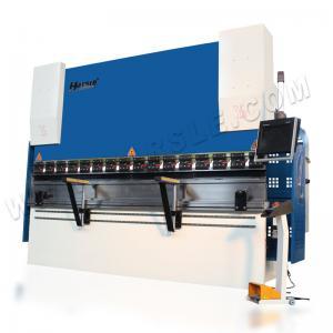 Quality HARSLE brand CNC Hydraulic Press Brake WE67K 160T/3200 Delem Da58T system for sale