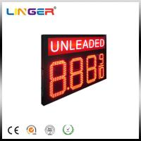 Quality Double Sides Unleaded LED Gas Price Sign With RF Wireless Remote for sale