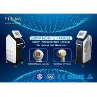 Quality Painless 808nm Diode Laser Hair Removal Machine Simple Operation 25 * 31mm Spot Size for sale