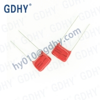 Buy cheap 0.001UF 0.68UF CBB28 Polypropylene Film Capacitor 630V 5% Pitch 10 from wholesalers