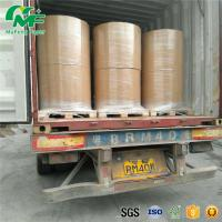 Quality Nontoxic 55gsm Thermal Paper Jumbo Rolls , Jumbo Paper Roll High Rubbing Resistance for sale