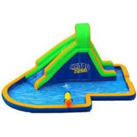 Buy 2016 Hot sell Inflatable water slide with big pool for Brunei market at wholesale prices