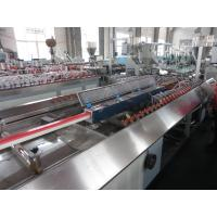 Quality Plastic PVC Profile Extrusion Machine For Window / Door Frame Plastic Extrusion Lines for sale