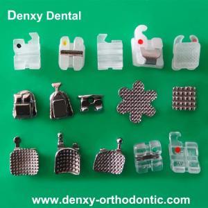 China Denxy Dental Dentist products Orthodontic Bracket Dental Supplies Dental bracket on sale