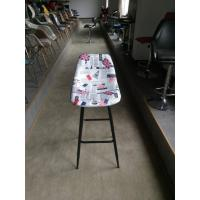 Fabric seat / Wood and Metal Bar Stool /Morden Commercial Cheap Used Chair HR