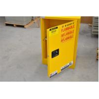 Quality Yellow Fireproof Flammable Safety Cabinets 12 Gal / 45L With Adjustable Leveling Feet for sale