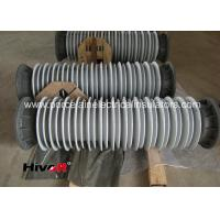 Quality 110KV SF6 Breaker Hollow Core Insulators With Aluminum Flange Grey Color for sale