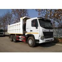 Quality HOWO Used Commercial Dump Trucks , Used Construction Trucks 6*4 Drive Mode for sale