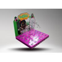 Buy Pop UP Cardboard Counter Display Rack For Toy / Colorful Paper Display Boxes For at wholesale prices