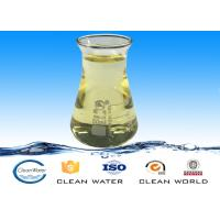 Coloreless / Yellow Liquid Polyamine Polymer For Water Clarification ISO / BV