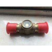 China Hermetic Sight Glass for Air Conditioning &Refrigeration, flare sight glass, brass sight glass on sale