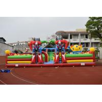 Buy cheap Giant inflatable robot fun amusement park PVC inflatable piggy fun city from wholesalers