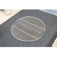 Quality Round crooked BBQ stainless steel grill mesh for sale
