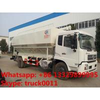Quality hydraulic auger bulk feed delivery/discharge truck for chicken,cattle,pig poultry farm for sale
