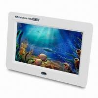 Quality Digital Photo Frame with Picture and Video Zoom, Supports USB Flash Disk for sale