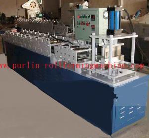 Quality Color Steel T Bar Roll Former Machine for Bar Gusset Plate / Light Steel Keel for sale