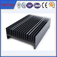 Quality Hot! custom heatsink supplier, OEM aluminium profile for heatsinks for sale