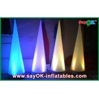 Quality Led Cone Inflatable Lighting Decoration Color Changed With Controller for sale